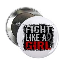 "Fight Like a Girl 31.8 Brain Tumor 2.25"" Button"