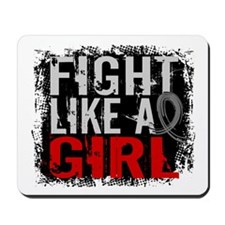 Fight Like a Girl 31.8 Brain Tumor Mousepad