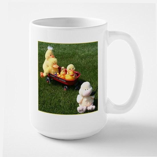 Ducky Flyer Large Mug