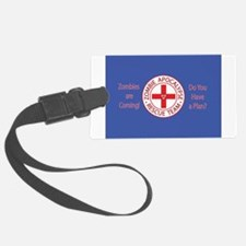 ZombiesComingRedPL3.png Luggage Tag