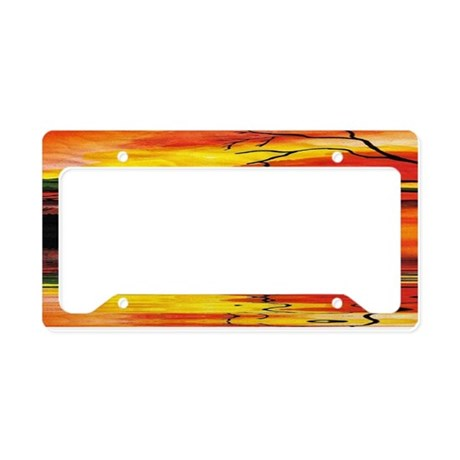 Dreaming The Day License Plate Holder