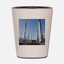 Kennedy Space Center Rocket Garden - Shot Glass