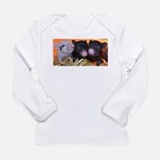 3 little micro pigs Long Sleeve Infant T-Shirt