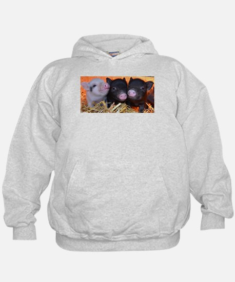 3 little micro pigs Hoody