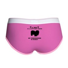 Pekingnese Dog Breed Designs Women's Boy Brief