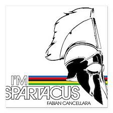 I'm Spartacus - Fabian Cancellara Square Car Magne