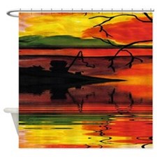 Dreaming The Day Shower Curtain