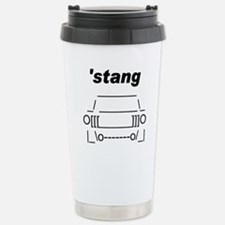 ASCII stang front.png Stainless Steel Travel Mug