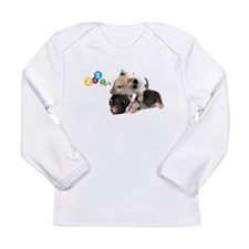 micro pigs sleeping Long Sleeve Infant T-Shirt