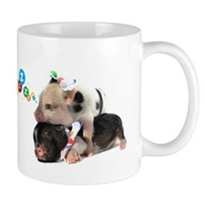 micro pigs sleeping Mug