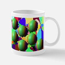 Pixelated pattern Mug