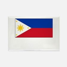 Philippines Flag Picture Rectangle Magnet