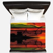 Dreaming The Day King Duvet