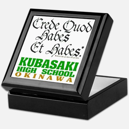 Motto Keepsake Box