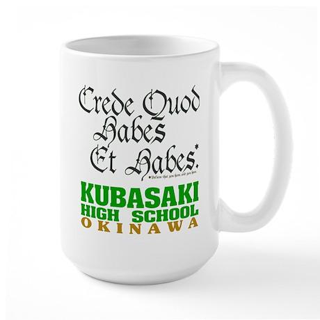 Motto Large Mug
