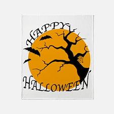 Happy Halloween 3 Throw Blanket