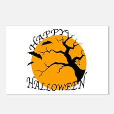Happy Halloween 3 Postcards (Package of 8)