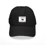 I Love Philippines Black Cap