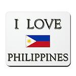 I Love Philippines Mousepad
