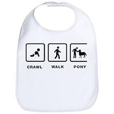 Pony Petting Bib