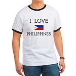 I Love Philippines Ringer T