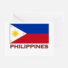 Philippines Flag Merchandise Greeting Cards (Packa
