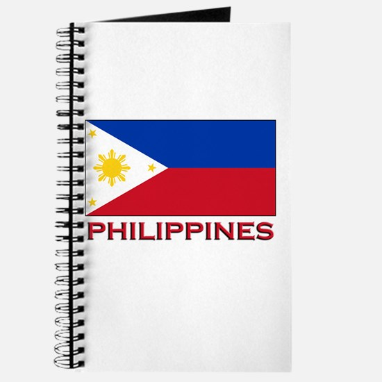 Philippines Flag Merchandise Journal