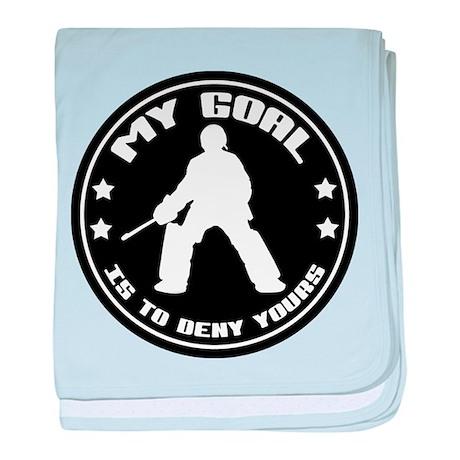My Goal, Field Hockey Goalie baby blanket