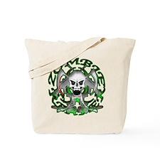 Zombie Green Reaper Tote Bag