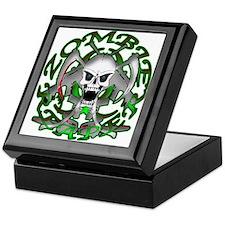 Zombie Green Reaper Keepsake Box