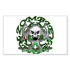 Zombie Green Reaper Decal