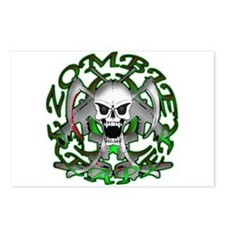 Zombie Green Reaper Postcards (Package of 8)