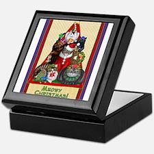 Meowy Christmas Keepsake Box
