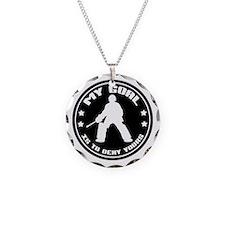 My Goal, Field Hockey Goalie Necklace