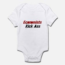 Economists Kick Ass Infant Bodysuit