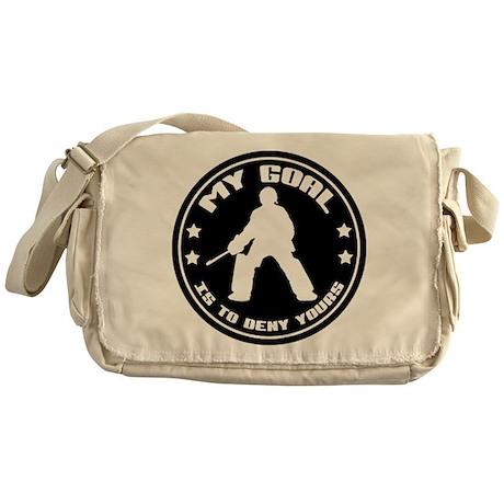 My Goal, Field Hockey Goalie Messenger Bag