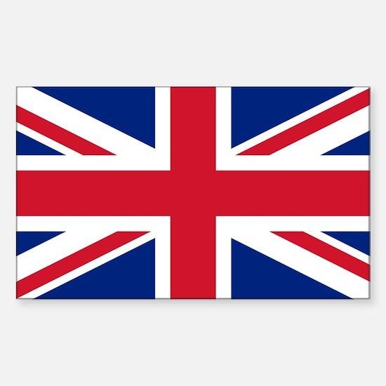 Union Jack Sticker (Rectangle)