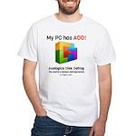My PC Has ADD Bricks White T-Shirt