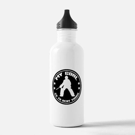 My Goal, Field Hockey Goalie Water Bottle