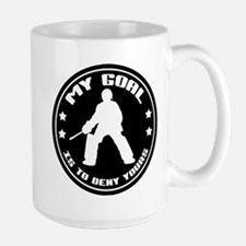 My Goal, Field Hockey Goalie Large Mug