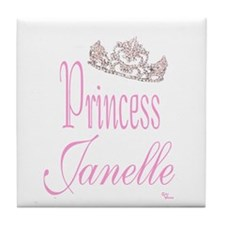 Princess Janelle Tile Coaster
