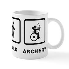 Wheelchair Archery Mug