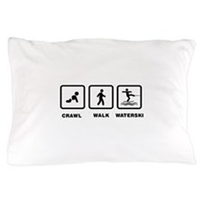 Waterskiing Pillow Case