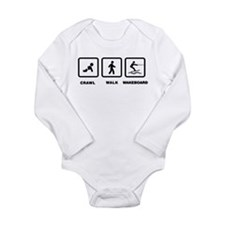 Wakeboarding Long Sleeve Infant Bodysuit