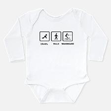 Wakeboarding Long Sleeve Infant Bodysuit
