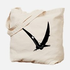 Music Loving Pterodactyl dinosaur design Tote Bag