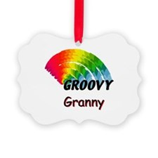 Groovy Granny Ornament