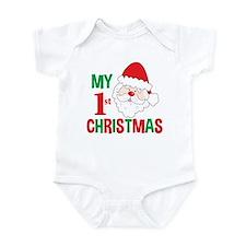 My 1st Christmas Santa Claus Onesie
