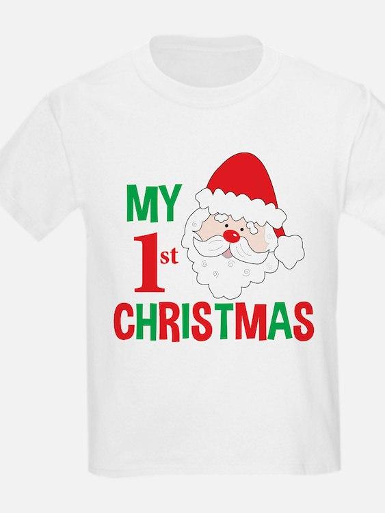 My 1st Christmas Santa Claus T-Shirt