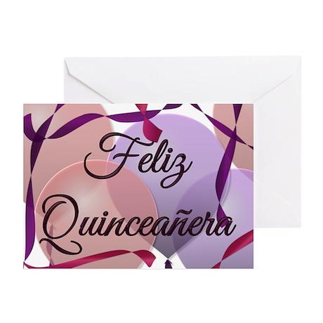 Feliz Quinceanera Birthday Cards (Pk of 10)